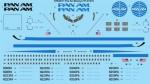 1-144-Pan-Am-late-Boeing-727-21-21C-Screen-printed-decal