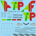 1-144-TAP-Portugal-Airbus-A340-300-Screen-printed-decal