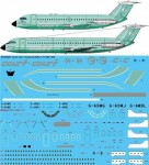 1-144-Court-Line-Turquoise-BAC-1-11-400-500