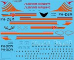 1-144-Surinam-Airways-Douglas-DC-8-55-and-63-Screen-printed-decal