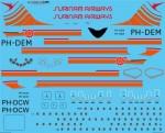 1-144-Surinam-Airways-Douglas-DC-8-55-and-63-Screen-printed-decal