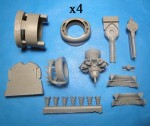 1-48-B-24-Liberator-Engines-and-Cowls-for-RMX-kit