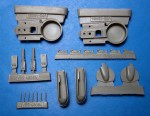 1-48-Re-2002-Wheel-Wells-Landing-Gear-for-Tamiya-Italeri
