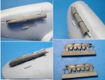 1-48-Spitfire-Mk-V-exhaust-pipes-new-Airfix-kit
