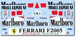 1-18-Mattel-Ferrari-F2005-Sponsorship-Decal