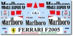 1-18-Mattel-Ferrari-F2005-Sponsorship-Decal