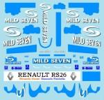 1-18-Mattel-Renault-R26-mild-Seven