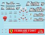 1-18-Mattel-Ferrari-F2007-Sponsorship-Decals