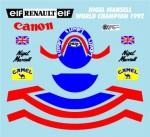 1-8-Helmet-Decal-N-Mansell-1992