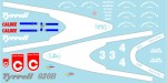 1-64-Tyrrell-020B-1992-Decal-for-Kyosho