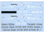 1-43-McLaren-MP4-30-Additional-Decal-for-PMA-and-Ebbro