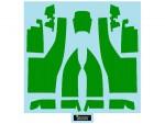 1-20-For-Benetton-B192-Body-Green-for-Tamiya