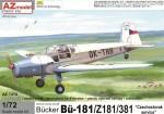 1-72-Bucker-Bu-181-Z181-381-Czechoslovak-service