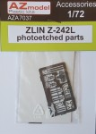 1-72-Zlin-Z-242L-photoetched-parts