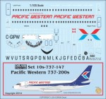 1-100-Pacific-Western-737-200s