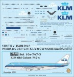 1-100-KLM-Old-Colors-747-200-300
