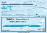 1-200-KLM-A330-300s