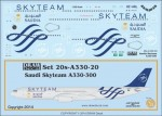 1-200-Saudi-Skyteam-A330-300
