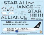 1-144-United-Airlines-Star-Alliance-767-300ER-Early-Version
