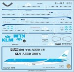 1-144-KLM-A330-300s