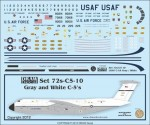 1-72-USAF-Gray-and-White-C-5As