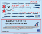 1-72-Flying-Tiger-Line-DC-8-63CFs
