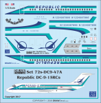 1-72-Republic-DC-9-15RCs