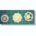 1-35-E-100-Drive-Sprockets-and-Outer-Idler-Wheels-for-Trumpeter