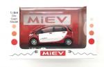 1-64-Next-Generation-Electric-Car-Mitsubishi-I-MiEV-Red-White