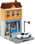 1-64-Fast-Food-Restaurant-and-Toyota-86-White