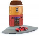 1-64-Souvenir-Shop-Street-Corner-and-Audi-R8-V10-Red