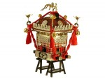 1-8-Edo-Mikoshi-Brown-colored-Red-String