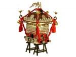 1-8-Edo-Mikoshi-Brown-colored-Red-String