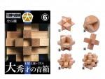 Wooden-Solid-Puzzle-Dai-Shusai-Blue-Box-1Box-6pcs