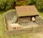 1-87-Praseci-chlivek-Pig-House-kit