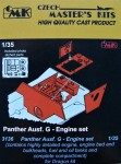 1-35-Panther-Ausf-G-Engine-set