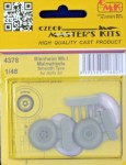 1-48-Blenheim-Mk-I-Mainwheels-Smooth-Tyre-AIRFIX