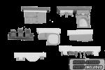 1-72-B-25C-D-Pilots-Cockpit-and-Radio-Compartment
