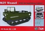 1-48-M29-Weasel-U-S-WWII-Amphibious-Vehicle
