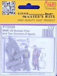 1-72-US-Bomber-Pilot-and-Two-Gunners-WWII-3-fig-