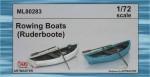 1-72-Rowing-boats-2pcs-MARITIME-LINE-ships