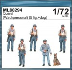 1-72-Guards-w-dog-MARITIME-LINE-figures