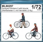 1-72-Dockyard-workers-II-with-bicycles-MAR-LINE