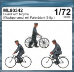1-72-Guards-with-bicycles-MARITIME-LINE-figures
