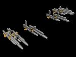 1-72-IAF-Fouga-Magister-IMI-80mm-unguided-rockets