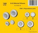 1-72-B-25-Mitchell-wheels-AIRFIX