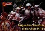 1-72-Burgundian-sergeants-and-archers-XIV-XV-century