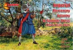 1-72-Imperial-Mercenary-infantry-in-summer-dress-Thirty-Years-War