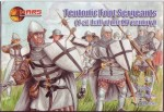 1-72-Teutonic-foot-sergeants-1st-half-of-the-XV-century