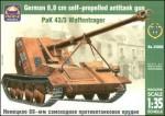 1-35-PaK-43-3-Waffentrager-German-88mm-SPG